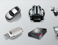Audi Windows7 Theme