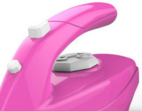 Barbie steam iron