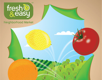 Fresh and Easy Reusable Grocery Bag Design