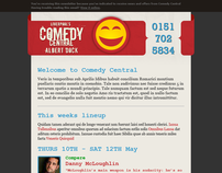 Liverpool's Comedy Central Newsletter System