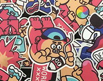 Error Stickers pack