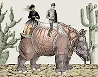 Vintage animation - The evolution of transport