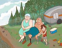 Camping Grandparents