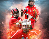GAA Camogie County Poster Series