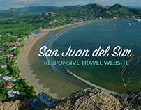 San Juan del Sur, Nicaragua - Travel Website Design