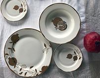 Pomegranate Tableware