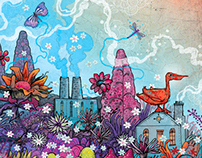 Editorial Illustration: Making Brownfields Bloom