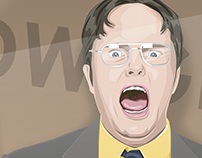 Dwight Illustration