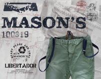 MASON'S ADS - CORRIERE E REPUBBLICA