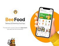 BeeFood - Delivery & Streaming Food Application