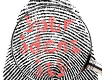 Fingerprint typeface