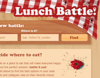 Lunch Battle Website