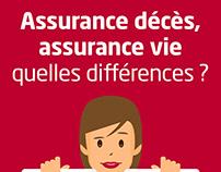 Assurance décès, assurance vie, quelles différences ?