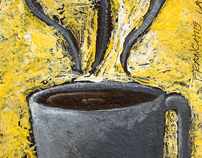 Acrylic Painting: Cup'o