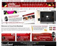 Coca Cola Blastbeat Website www.blastbeat.org
