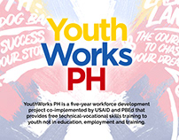 Youthworks PH Key Visual and Brochure Template