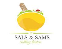 Sals &  Sams Logo design (all drafts)