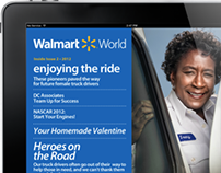 Walmart World - Associates Magazine for iPad