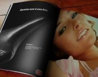 Bixy - Playboy Magazine ad.