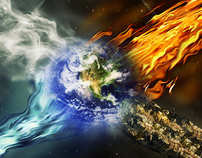 Fire-Earth-Air-Water=Planet Earth