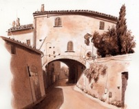 Drawings from the Road to Rome 1