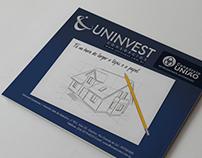 Anúncio Revista - Uninvest  (Tá na hora)