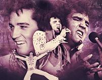 Elvis Presley 24KT Gold Records