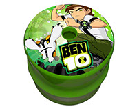Product Heat Seal Design With Ben 10 & Powerpuff Girls