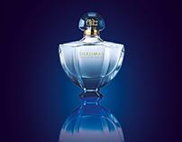 """Affiche pub parfum """"Shalimar"""""""