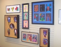 CSAT Artwork on display at Black Belt Treasures