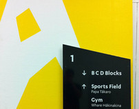 Wayfinding for Wellington High School