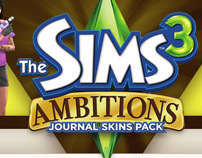 The Sims 3 Ambitions Journal Skins Article