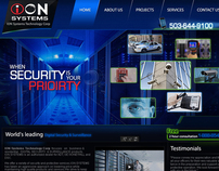 ION Systems website design