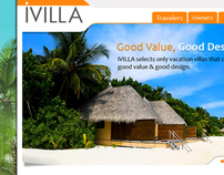 Ivilla Rentals website design