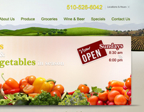 Monterey Market website design