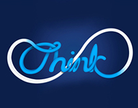 Typography:  ''Think''