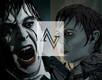 DARK SHADOWS : THE VECTOR MASK