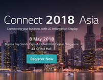 [Conference] LG, Connect 2018 Asia, Singapore