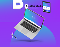 B. Creative studio - Agency website