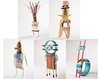 5 little sculptures