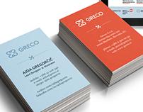 Greco corporate identity