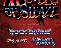 Concert Flyers & Posters for Rock Divine