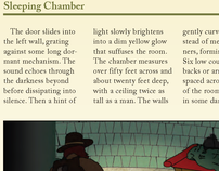 Magazine Layout - The Sleeping Chamber