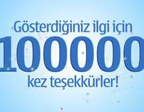 Nokia Türkiye // 100.000 Facebook Fans!