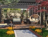 Pergola Private Garden