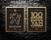 Grinta : De Ronde / Tour of Flanders Posters