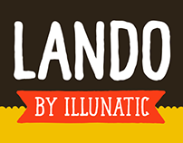 Lando - The Handmade Uppercase Typeface