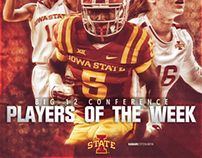 Big 12 Players of the week