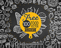 Free 100 Food Illustrations