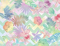 Pastel Tropical